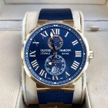 Ulysse Nardin Marine Chronometer 43mm Stahl 43mm Blau Römisch Schweiz, Pully