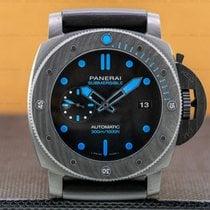 Panerai Luminor GMT Automatic Titanium 47mm Black