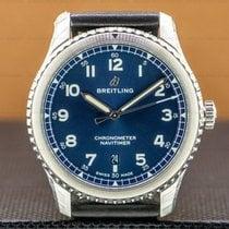 Breitling Navitimer 8 Acero 41mm Azul Arábigos
