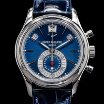 Patek Philippe Annual Calendar Chronograph Platinum Blue United States of America, Massachusetts, Boston