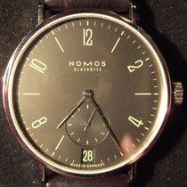 NOMOS Tangomat Ruthenium Steel 38mm Black Arabic numerals