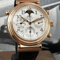 IWC Da Vinci Perpetual Calendar Oro rosa 41,5mm Blanco Arábigos