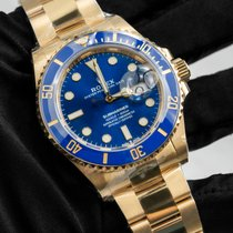 Rolex Submariner 126618LB New Yellow gold 41mm Automatic
