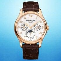 Patek Philippe Rose gold Automatic Champagne Arabic numerals 39mm new Perpetual Calendar