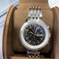 Breitling Navitimer GMT Steel 46mm Black No numerals United States of America, New Jersey, wayne