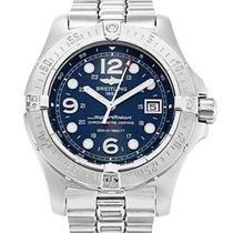 Breitling Superocean Steelfish Steel 44mm Blue Arabic numerals United States of America, New York, New York