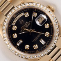Rolex Day-Date 36 Yellow gold 36mm Black United States of America, California, Los Angeles