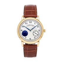 A. Lange & Söhne 1815 Yellow gold 37.4mm Silver United States of America, Pennsylvania, Bala Cynwyd