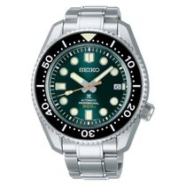 Seiko Silver Automatic Green No numerals 44.3mm new Marinemaster