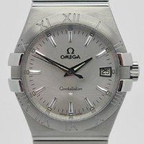 Omega Constellation Quartz nuevo 2009 Cuarzo Reloj con estuche y documentos originales 123.10.356002001