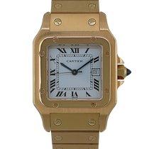 Cartier Santos Galbée Желтое золото 29mm