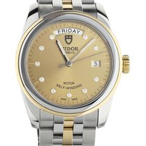 Tudor Glamour Date-Day Gold/Steel 40mm Champagne United States of America, Illinois, BUFFALO GROVE