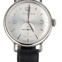 Bell & Ross Vintage BRWW1-70-AG Very good Silver 45mm Manual winding