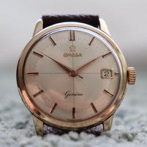 Omega Rose gold Manual winding Champagne 34mm pre-owned Genève