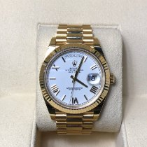 Rolex Day-Date 40 Yellow gold 40mm White