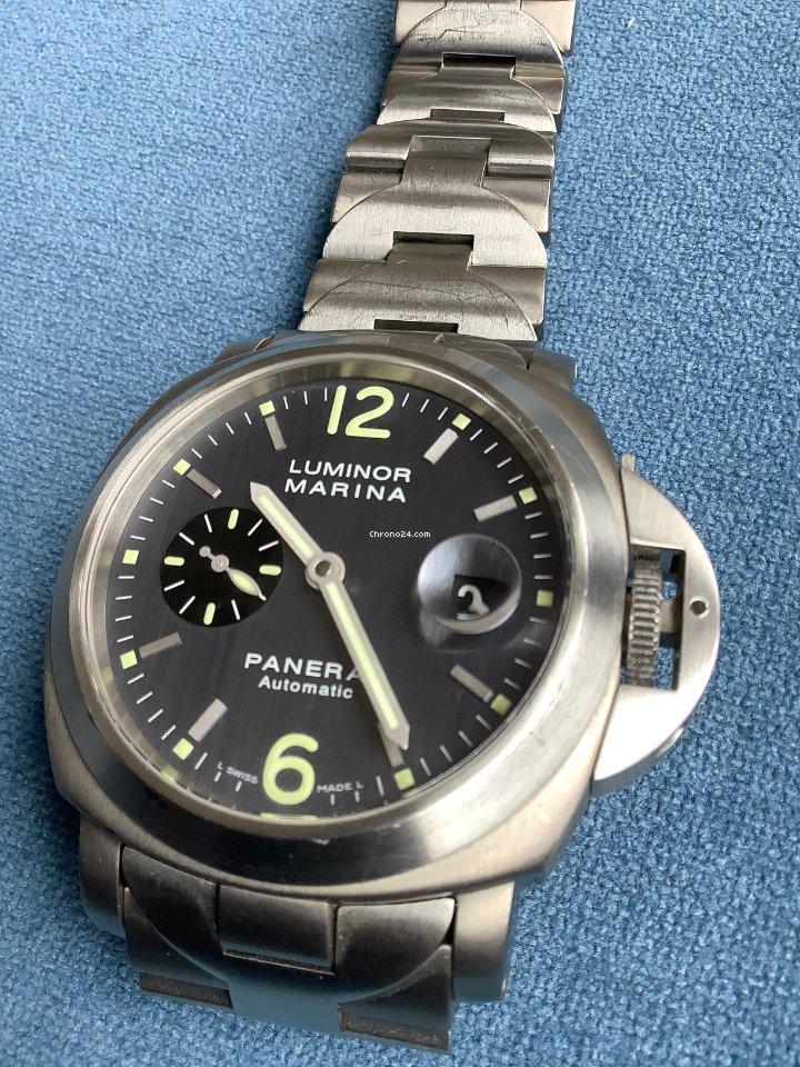 Panerai Luminor Marina Automatic PAM00091 2003 подержанные