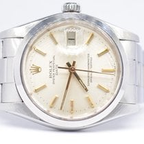 Rolex Oyster Perpetual Date Steel 34mm Silver No numerals United Kingdom, London Colney Hertfordshire