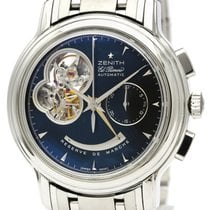 Zenith Steel 40mm Automatic 03.0240.4021 pre-owned