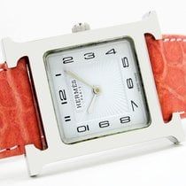 Hermès Heure H Steel 26mm White Arabic numerals India, Mumbai