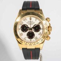 Rolex Daytona Желтое золото 40mm Cеребро Aрабские