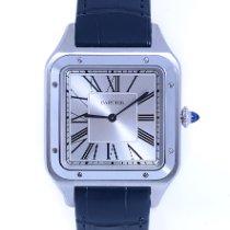 Cartier Santos Dumont Stahl 46.6mm Silber Römisch Deutschland, Düsseldorf