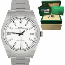 Rolex Oyster Perpetual 39 Steel 39mm White United States of America, New York, Massapequa Park