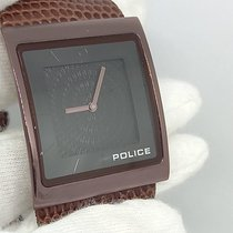 Police Keramik 32mm Quarz 10849M gebraucht