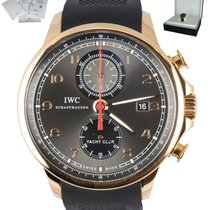 IWC Portuguese Yacht Club Chronograph Rose gold 45mm Arabic numerals United States of America, New York, Smithtown