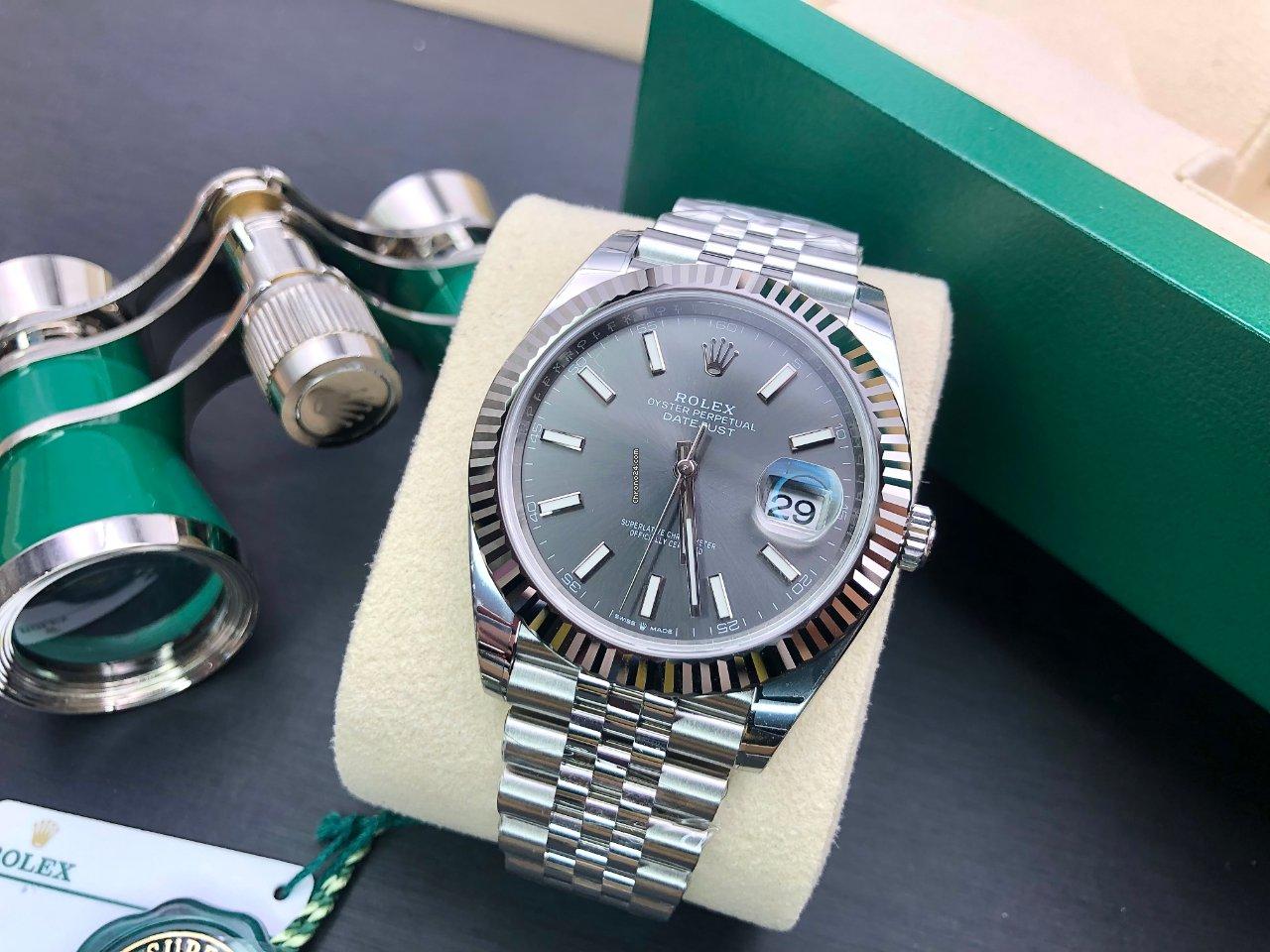 Rolex (ロレックス) Datejust 126334 grey 2021 新品
