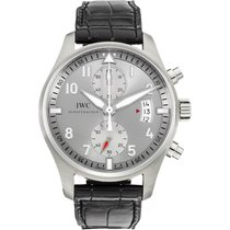 IWC Pilot Spitfire Chronograph new Automatic Chronograph Watch with original box and original papers IW387809