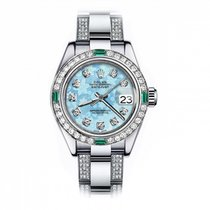 Rolex Oyster Perpetual Lady Date 69160 Very good Steel 26mm Automatic United States of America, New York, New York