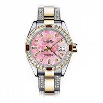 Rolex Lady-Datejust 69173 Muy bueno Acero y oro 26mm Automático