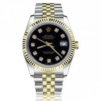 Rolex 16233 Gold/Steel Datejust 36mm pre-owned United States of America, New York, New York