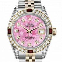 Rolex Lady-Datejust 69173 Zeer goed Goud/Staal 31mm Automatisch
