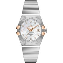 Omega Constellation Ladies new Automatic Watch with original box and original papers 123.20.31.20.55.003