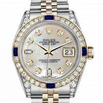 Rolex Lady-Datejust 68273 Πολύ καλό Χρυσός / Ατσάλι 31mm Αυτόματη