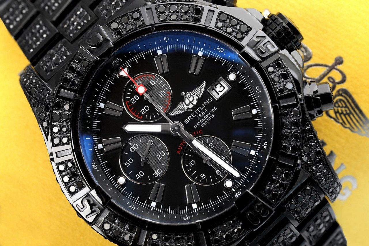 Breitling Super Avenger A13370 подержанные