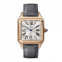 Cartier Santos Dumont new Quartz Watch with original box and original papers WGSA0021