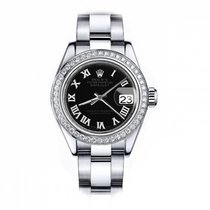 Rolex Oyster Perpetual Lady Date Steel 26mm Roman numerals United States of America, New York, New York