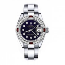 Rolex Oyster Perpetual Lady Date 69160 Odlično Zeljezo 26mm Automatika