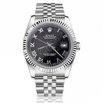 Rolex Datejust Steel 36mm Roman numerals United States of America, New York, New York