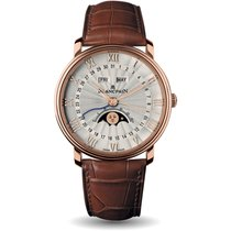 Blancpain Villeret Quantième Complet Rose gold 40mm Roman numerals United States of America, New York, New York