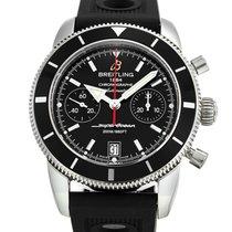 Breitling Superocean Heritage Chronograph Сталь 44mm Черный