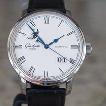 Glashütte Original Senator Excellence Steel 40mm Silver Roman numerals United States of America, Massachusetts, Boston