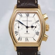 Girard Perregaux Rose gold Automatic White Arabic numerals 36mm pre-owned Richeville