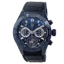 TAG Heuer Carrera Heuer-02T Ceramic 45mm Transparent United States of America, New York, New York