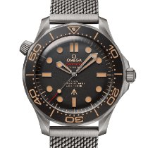 Omega Seamaster Diver 300 M Titanium 42mm Black No numerals United States of America, California, Newport Beach
