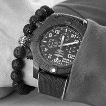 Breitling Carbon Automatik Schwarz Arabisch 50mm gebraucht Avenger Hurricane