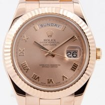 Rolex Day-Date II Rose gold 41mm