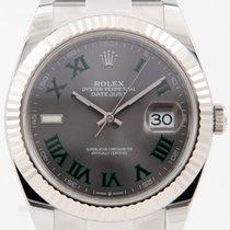 Rolex Datejust Stahl 41mm Grau Deutschland, Stuttgart